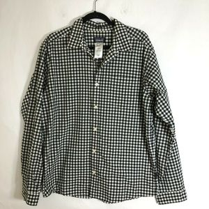 Patagonia Men's Casual Button Front Checkered L